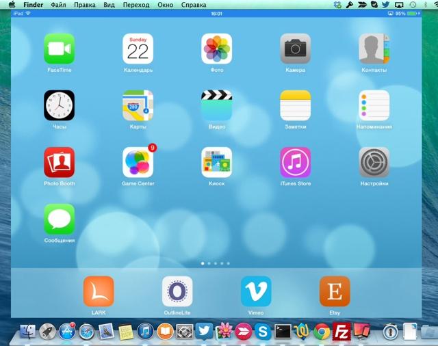 Air Play на iPad
