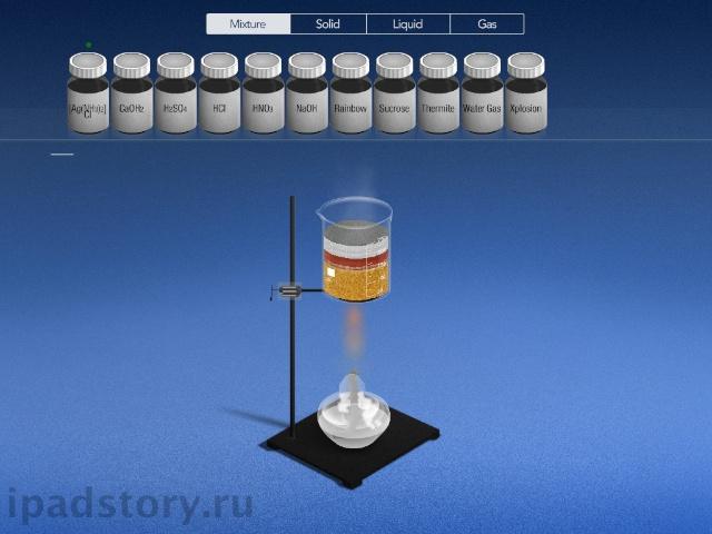Химия на iPad