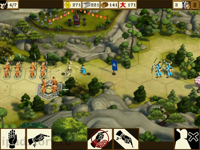 Total War Battles на iPad