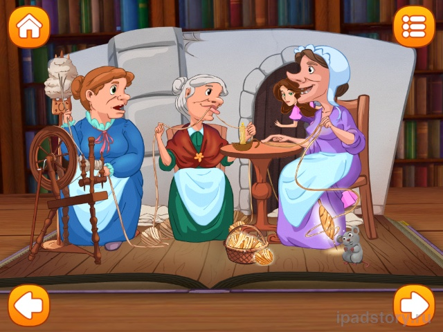 Три пряхи - сказка  для iPad