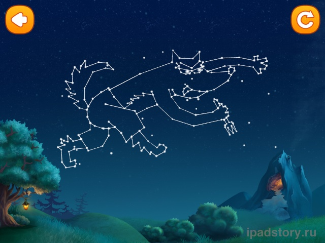 игра в приложении Чудо-Книжка: Сказки Волшебного Леса
