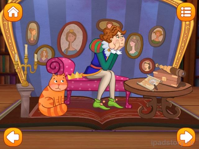 Принцесса на горошине для iPad