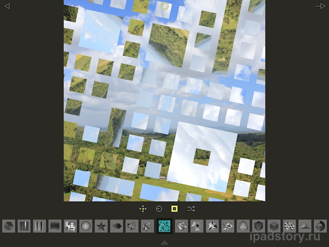 Fragment на iPad