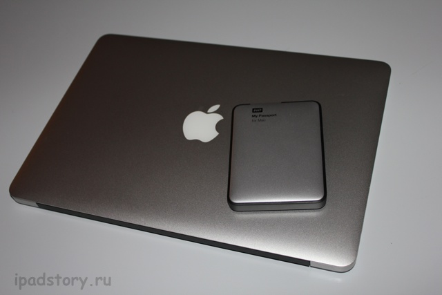 My Passport for Mac и MacBook Air