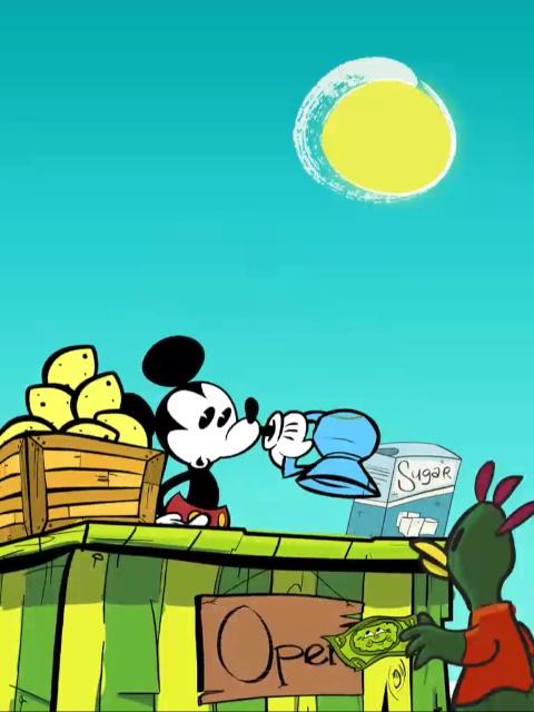 Where is Mickey iPad