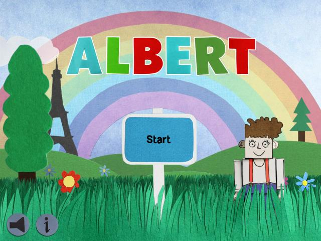 Albert HD на iPad