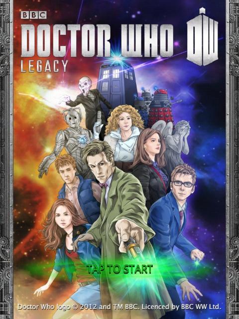 Doctor Who на iPad
