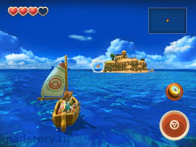 Oceanhorn на iPad