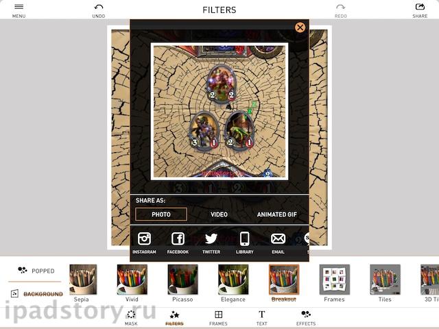 PopAGraph iPad