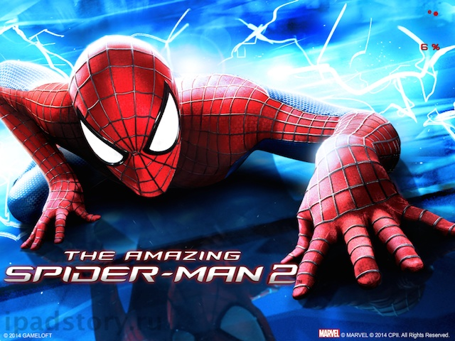 Новый Человек-паук на iPad