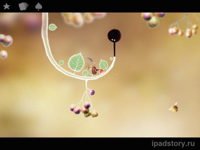 Botanicula на iPad