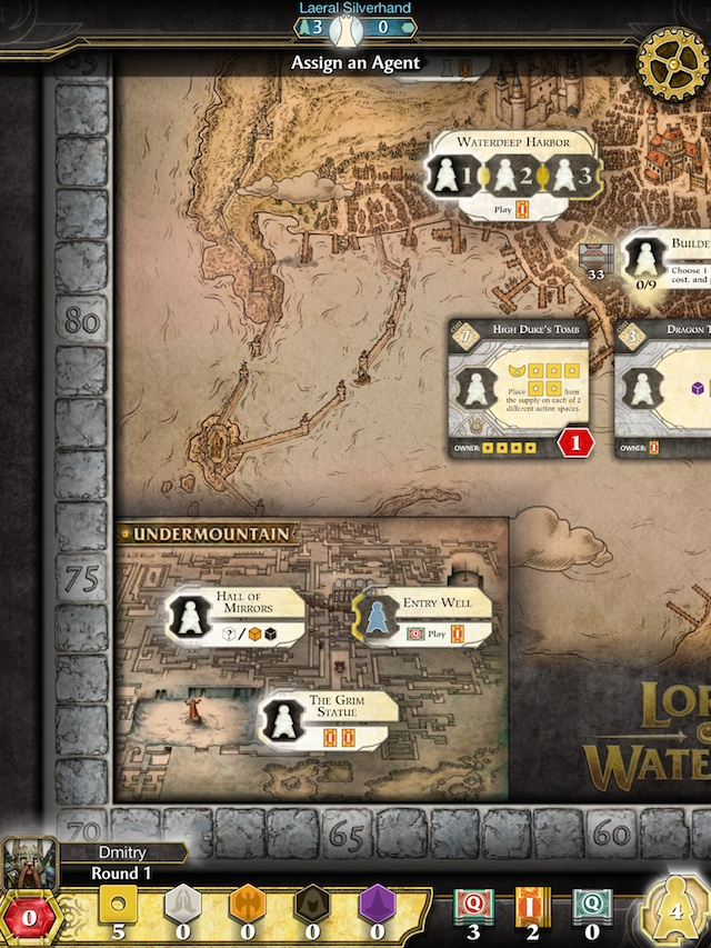 Lords of Waterdeep Undermountain