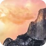 Стандартные обои из OS X Yosemite и El Capitan