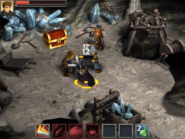 Battleheart Legacy на iPad