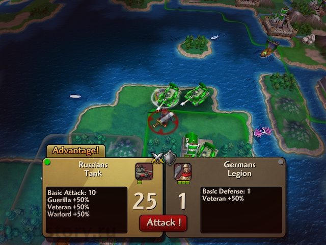 Civilization Revolution 2 iPad