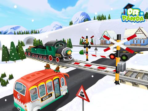 Dr. Panda автобус на Рождество