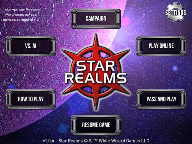 Star Realms на iPad