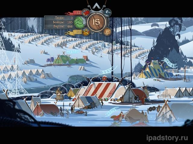 Banner Saga iPad
