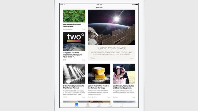 News в iOS 9