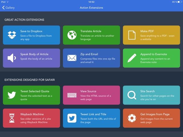 Workflow iPad