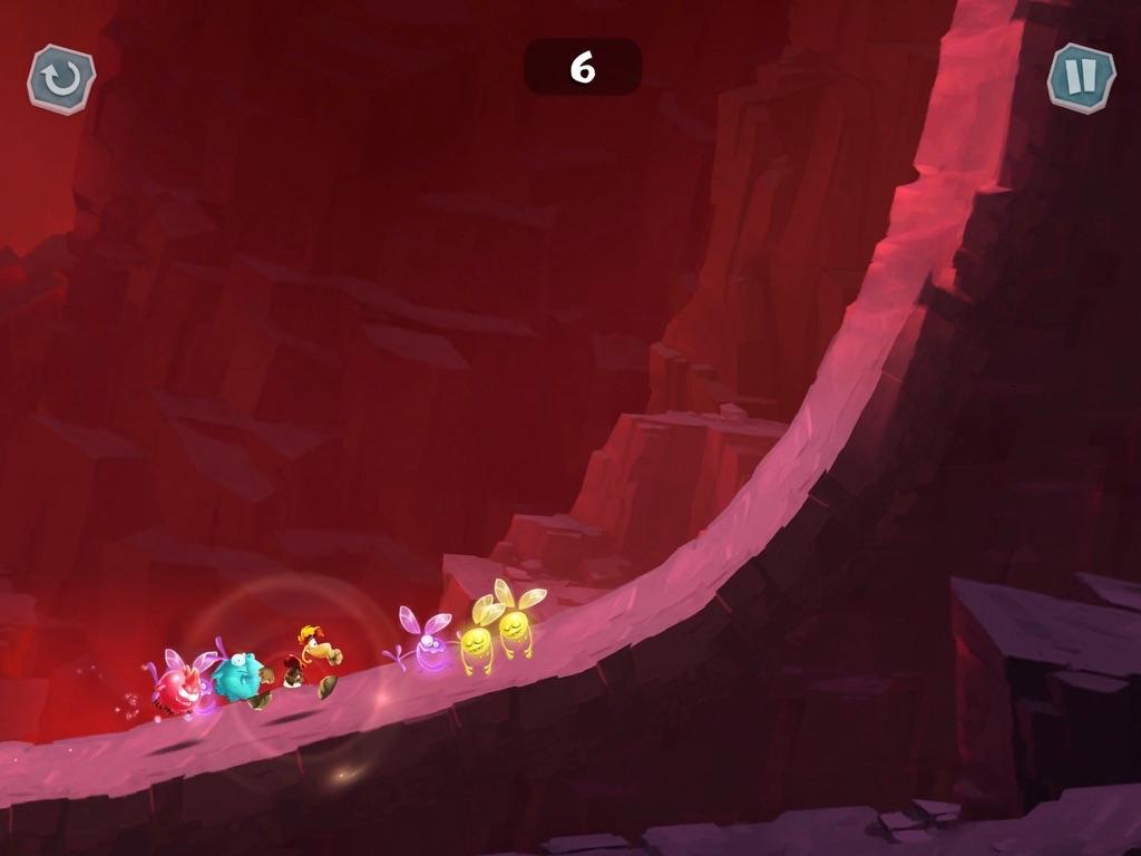 Rayman Adventures ipad