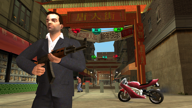 Grand Theft Auto: Liberty City Stories!