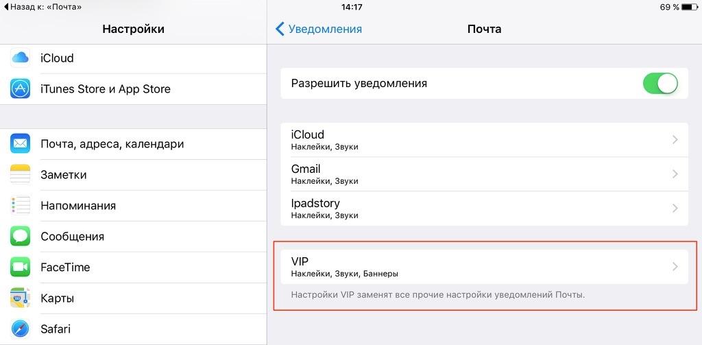 Секреты почты iOS 9