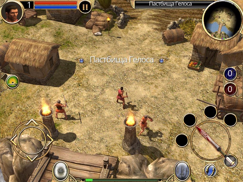 Titan Quest на iPad
