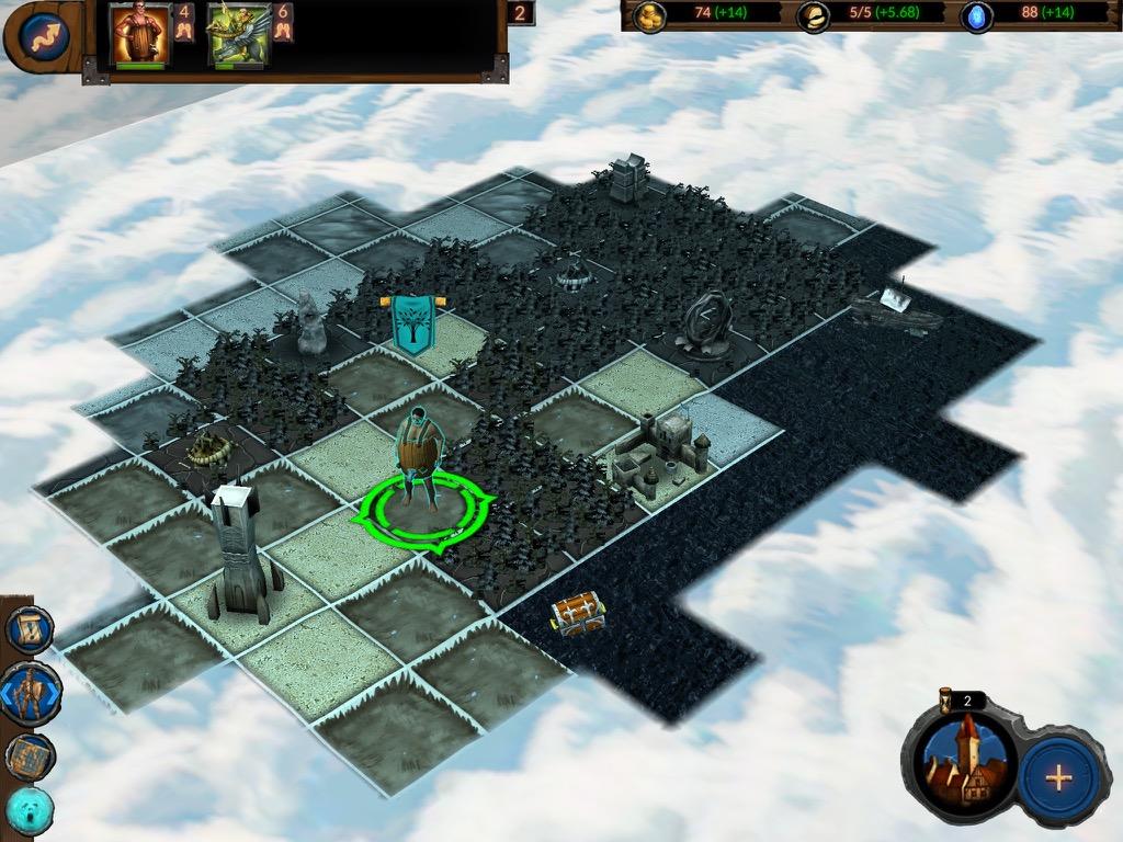 Planar Conquest на iPad
