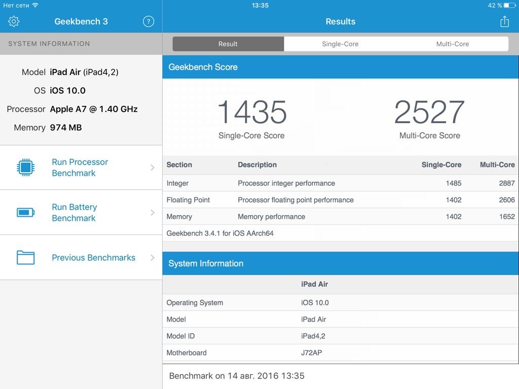benchmark-ipad