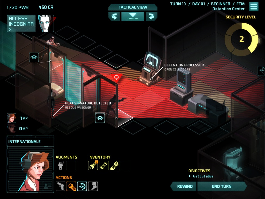 Invisible inc ipad