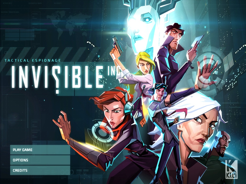 Invisible Inc iPad обзор