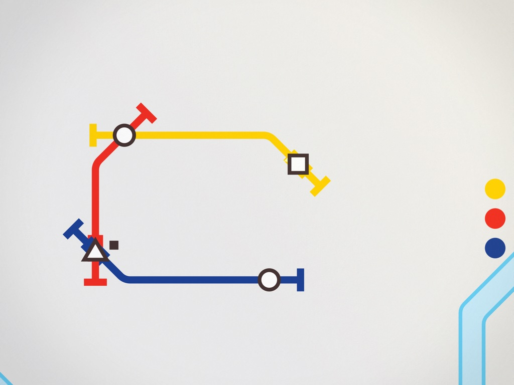 Mini Metro скриншот