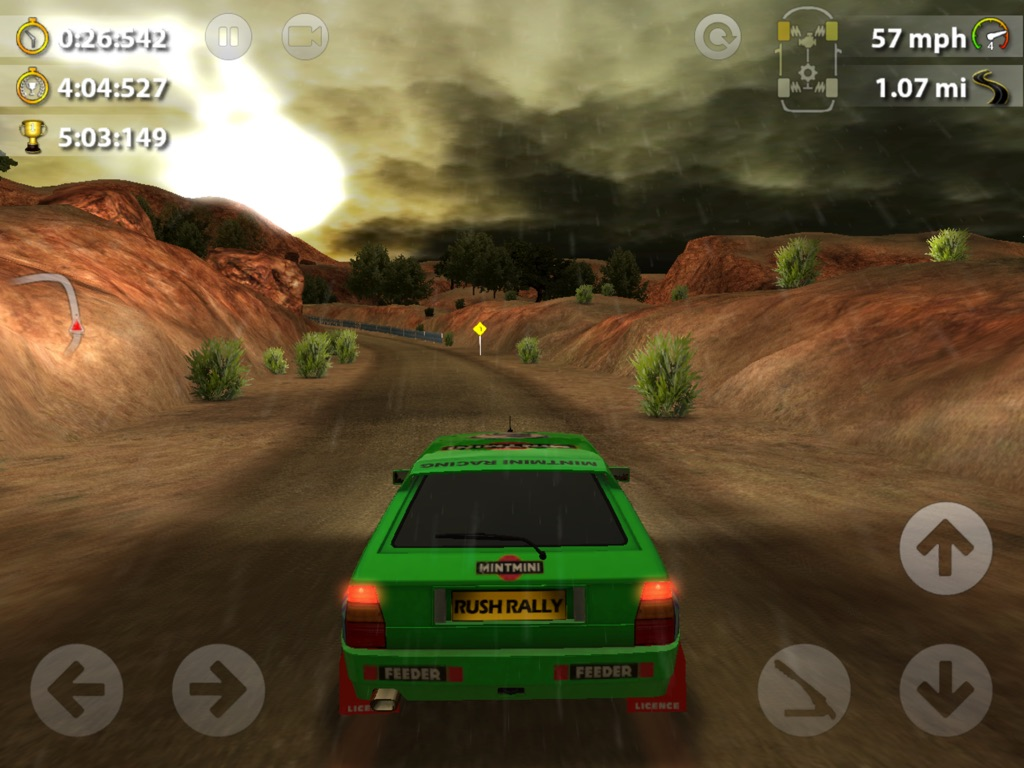 Rush Rally 2 обзор