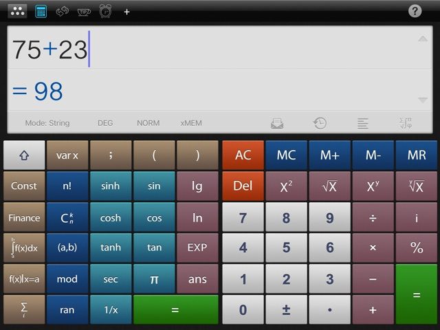 Альтернатива калькулятора