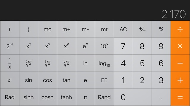 calculator-ios