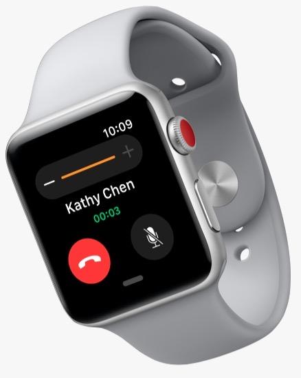 Представлены умные часы Apple Watch Series 3. Что нового?