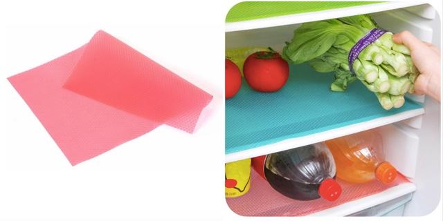 Антибактериальный водонепроницаемый коврик в холодильник