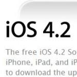 iOS 4.2 для iPad