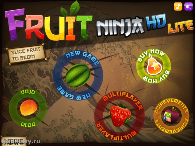 Fruit Ninja HD iPad