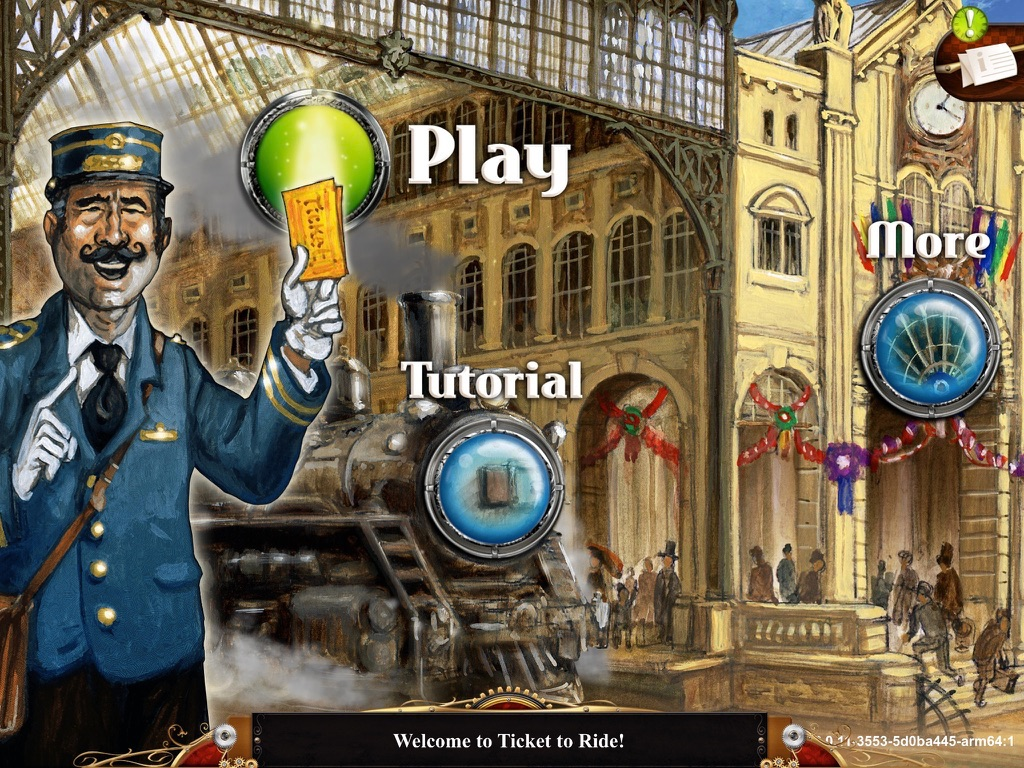 Ticket to Ride на iPad