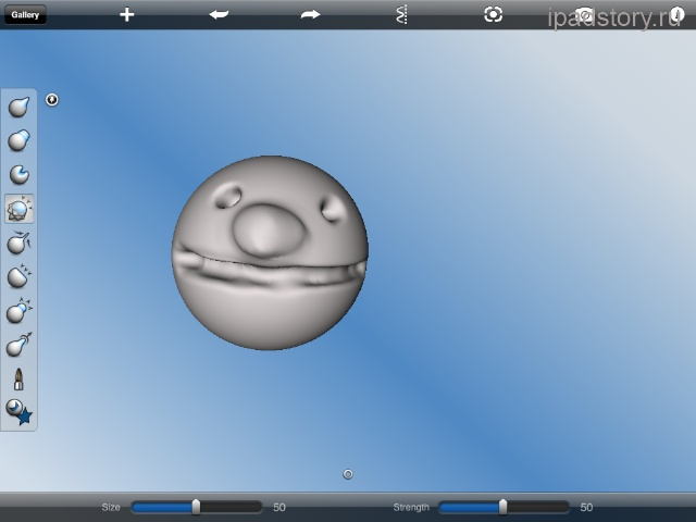 123D Sculpt iPad