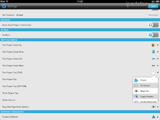 360 web browser — браузер для iPad | Всё об iPad