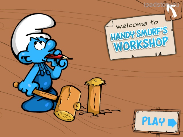 Smurfs Village iPad