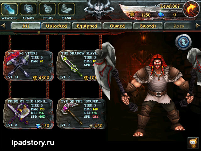 Eternity Warrios на iPad