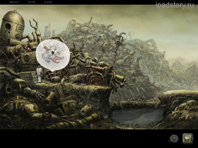 Machinarium iPad