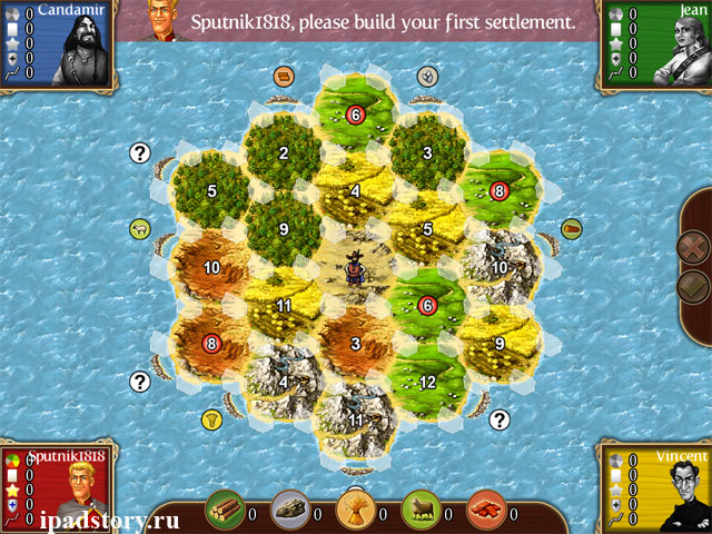 First Island - Catan HD для iPad