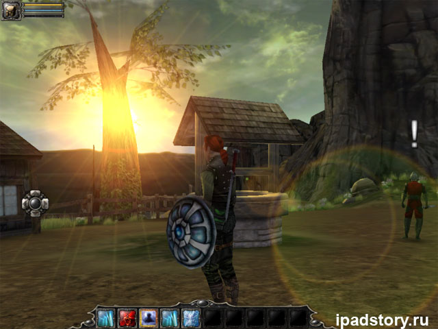 игра Aralon: Sword and Shadow HD на iPad