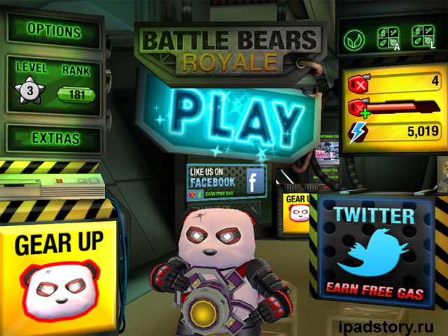 Battle Bears Royale - игра для iPad