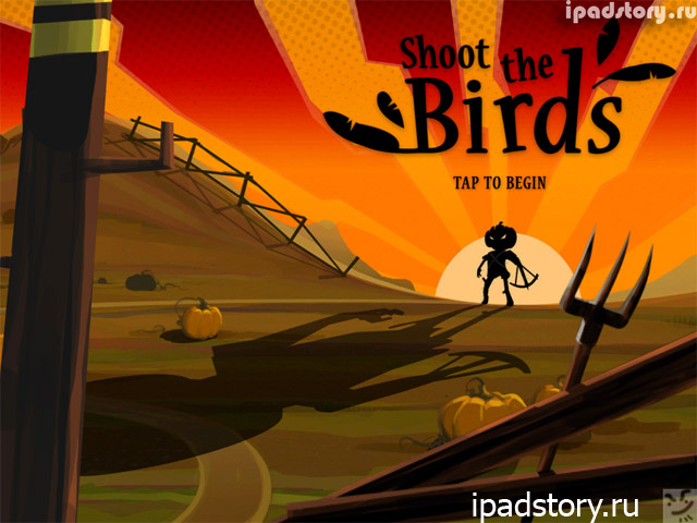 Shoot The Birds - игра на iPad